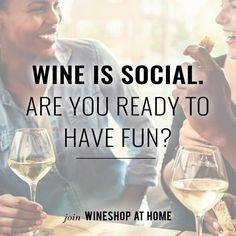 I love running my own wine business. Wine - what could be more fun than that? Ask me about WineShop At Home today!  http://wsah.org/9jc
