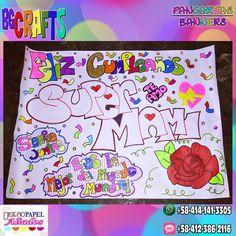 By BrittanyGiron (@byBrittanyGiron)   Twitter #Pancarta #Pancartas #Banners #HBDbanners #pancartadecumpleaños #carteles #cartelesdecumpleaños #byBrittanyGiron #BGCrafts