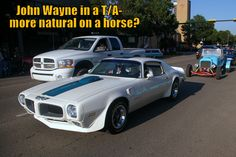 MSCC looks at John Wayne's other ride: http://mystarcollectorcar.com/john-waynes-other-horse/ #JohnWayne #TA