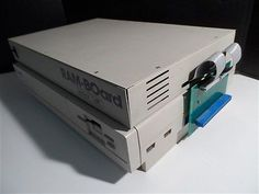 Amiga 1000 w/ Technisoft RAM-BOard expansion