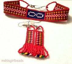 Newest Screen metis Beadwork Ideas Thread stress can create a massive impact on how your jewelry looks. No-one would like to commit a long time Beading Projects, Beading Tutorials, Beaded Earrings, Beaded Jewelry, Beaded Moccasins, Brick Stitch Earrings, Beaded Crafts, Native American Beading, Loom Beading