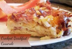 Crockpot Breakfast Casserole - Burnt Apple