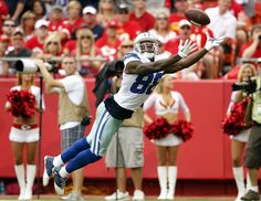 DEZ ... and it was a catch against the packers