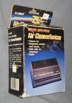 Lumen Deluxe Auto-Fresh Air Cleaner Ionizer NIB