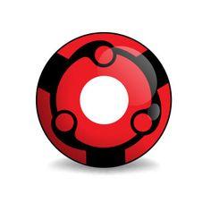 Ninja Madara - Manga Linsen (rote Kontaktlinse von Lensspirit) #contacts #contactlenses