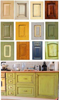 Купить перекрашу кухонные фасады - салатовый, кухонный фасад, Мебель, роспись мебели, покраска мебели