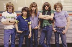 The Early Days (Pete Willis was later replaced by Phil Collen) Great Bands, Cool Bands, Beatles, Steve Clarke, Vivian Campbell, Phil Collen, Rick Savage, 80s Hair Bands, Joe Elliott