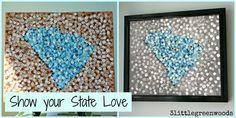 Show your state love @ 3littlegreenwoods.com