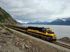 The Alaska Railroad is a major tourist attraction during the summer when the Denali Star takes passengers from Anchorage to Fairbanks, with stops in Denali National Park. The entire trip takes 12 hours.
