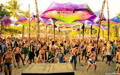 Trance party in Brazil!