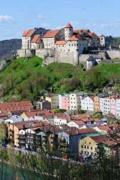 The Castle of Burghausen, Germany by Eva0707