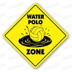WATER POLO ZONE teken bal nieuwe netto spelers door SignMission