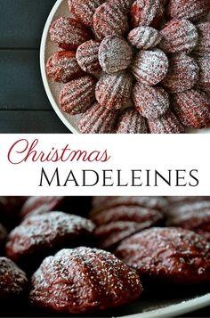 Christmas Desserts, Holiday Treats, Christmas Treats, Christmas Cookies, Afternoon Tea, Madeleine Recipe, Tea Cakes, Macaron, Healthy Kids