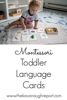 A look at Montessori language cards with toddlers. Here are a few ways to use them and some options on where to get them. A look at Montessori language cards with toddlers. Here are a few ways to use them and some options on where to get them. Montessori Baby, Montessori Playroom, Montessori Homeschool, Montessori Materials, Montessori Activities, Montessori Elementary, Homeschooling, Preschool Activities, Toddler Learning Activities