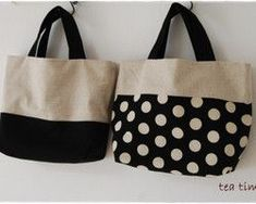 Trendy Sewing Bags And Purses Patterns Ideas 52 Ideas Diy Tote Bag, Tote Bags Handmade, Japan Bag, Diy Sac, Patchwork Bags, Linen Bag, Purse Patterns, Fabric Bags, Black Tote Bag