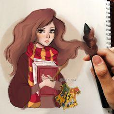 Hermione Granger by gifaulia