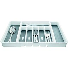 £23 - Lakeland Expanding Click Together Compartments Cutlery Tray & Drawer Organiser