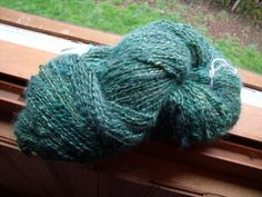 "My new yarn, ""Raphaël"""