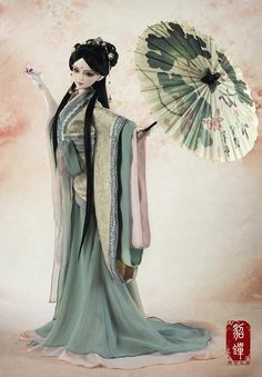 as Kobo angel, bjd clothes, 3 points female costume Diao Chan, CL3130416- Taobao global Station