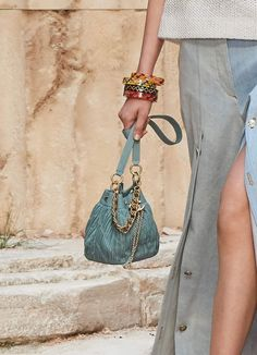 5723673b23e62c Your First Look at Chanel's Cruise 2018 Bags, Straight from the Ancient  Greece-Inspired Runway