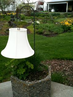Girl Camping: Idea for Dry Camping: A Solar Lamp