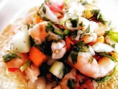 Mexican ceviche (in Spanish)