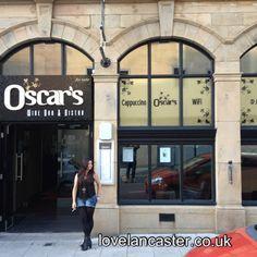 Oscars Restaurant, Lancaster Lancashire, UK http://www.lovelancaster.co.uk