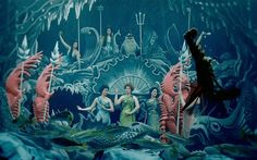 I love this scene in Hugo. Underwater fabulousness!
