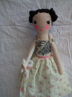 cloth doll by madebyjenni, via Flickr