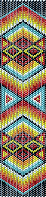 This instant download, 9-page beading pattern of a design made by me using…