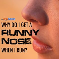 Runny nose while running most likely = exercise-induced rhinitis. Why it happens and what can be done!