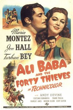Ali Baba and the Forty Thieves Poster -