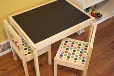 Ikea Redo: Kid's Activity Table