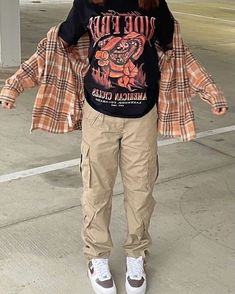 Swaggy Outfits, Baddie Outfits Casual, Swag Outfits For Girls, Cute Swag Outfits, Trendy Outfits, Tomboy Fashion, Teen Fashion Outfits, Retro Outfits, Streetwear Fashion