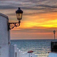 Beautiful sunset in beautiful Spain! #travel