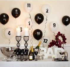 6 New Year's Eve Party Ideas