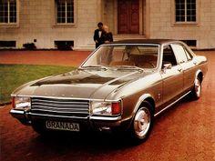 Ford Granada GXL 4-door Saloon (1972 – 1977).