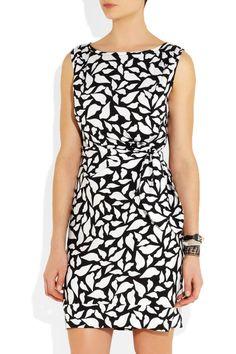 Diane von Furstenberg New Della stretch-silk dress NET-A-PORTER.COM