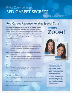 You've seen the video, now get the look. Here are step-by-step instructions for that special date look.