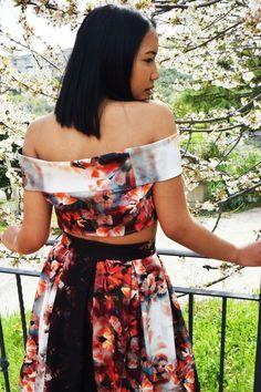 Outfit floreale.. per un'estate da sogno..