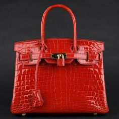 "Custom made crocodile handbag, Please Check my Pins and read ""About Me"", Please download WeChat from App Store freely and add my ID:frankjieluxuryc, you will see lots of top quality handbags, jewelry, Wholesale or Retail !"