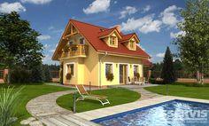 Rodinný dům Hit 1 - typový projekt G SERVIS