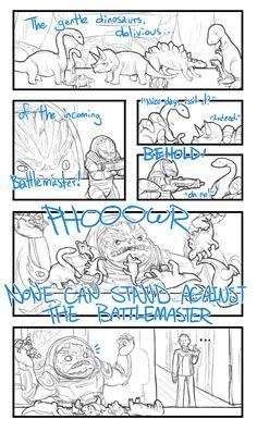 Dinosaur Battlemaster by ~TehArtMonkey on deviantART
