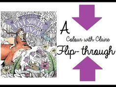 Flip Through: Vivi's Looking For A Friend (Vivi Söker En Vän) Coloring Book By Maria Trolle - YouTube