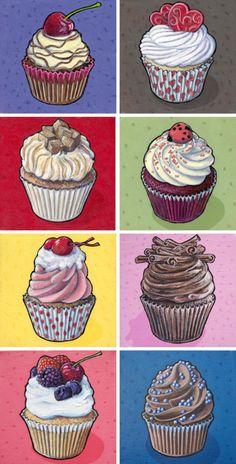 #cupcakes #artwork #cute