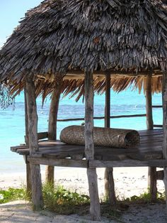 A Samoan fale. I want one of these to be built at the back of my western house