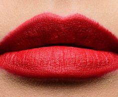 <img> Giorgio Armani Lucky Red Rouge d'Armani Matte Lip Color - Matte Lip Color, Matte Lips, Lip Colors, Warm Undertone, Giorgio Armani, Lip Makeup, Mauve, Makeup Looks, Cosmetics