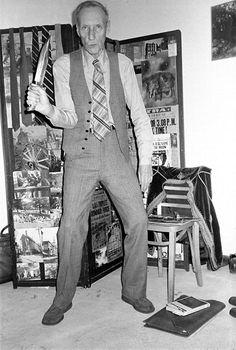 William S Burroughs.