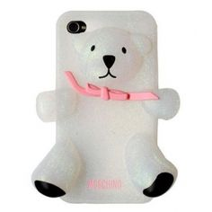 If you love bears like I do, this iPhone case will steal your heart! This cute and stylish back case secures your gadget with utmost efficiency and uplifts its appearance to the next level!  http://www.icase-zone.com/moschino-gennarino-glitter-bear-silicon-case-for-iphone-5-p-484.html