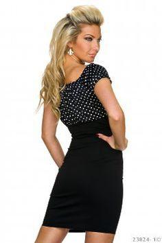 Rochie Stylish Dots Black